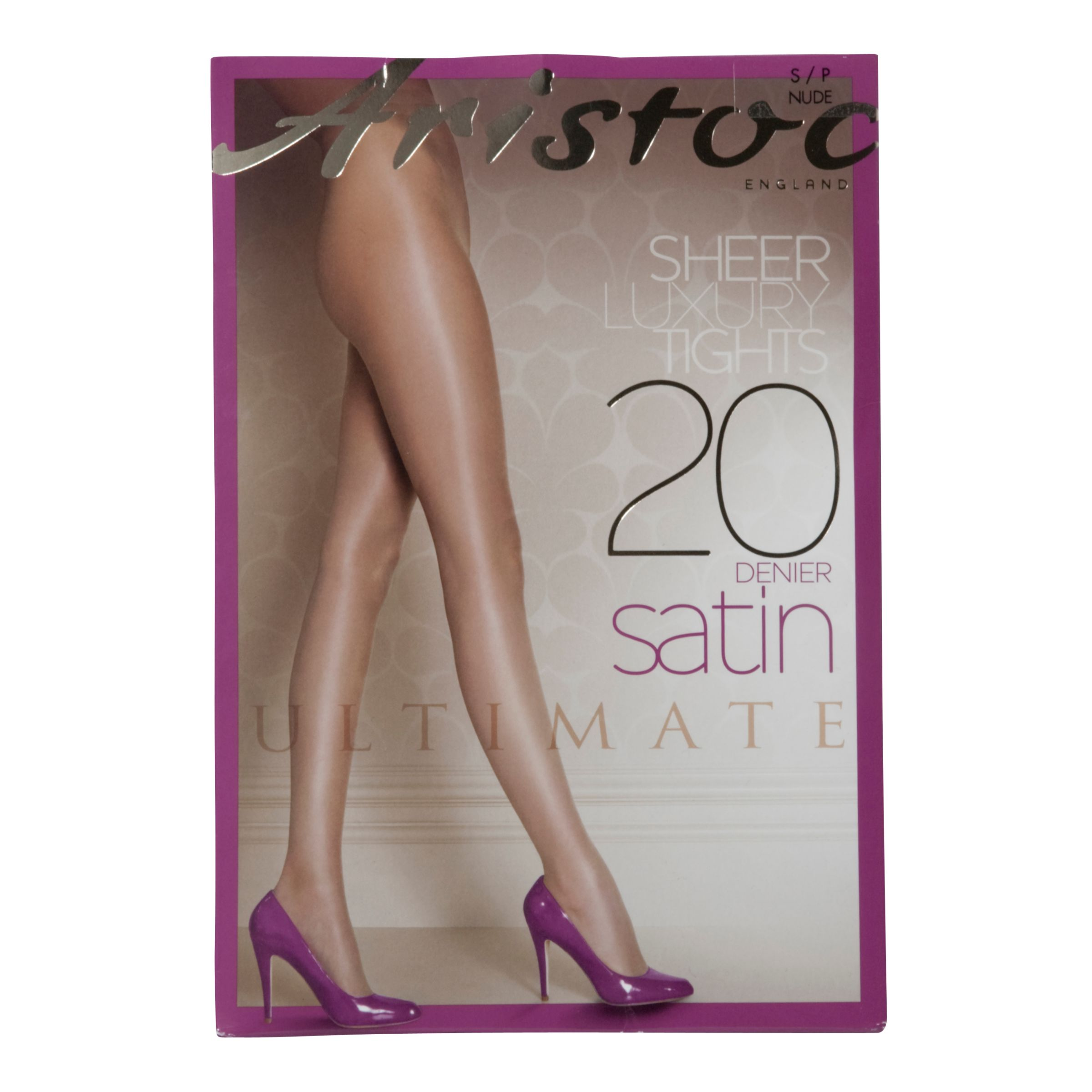 Aristoc Ultimate Satin Tights, Nude