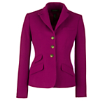 Lauren by Ralph Lauren Fitted Wool Jacket, Oxford Berry, £265