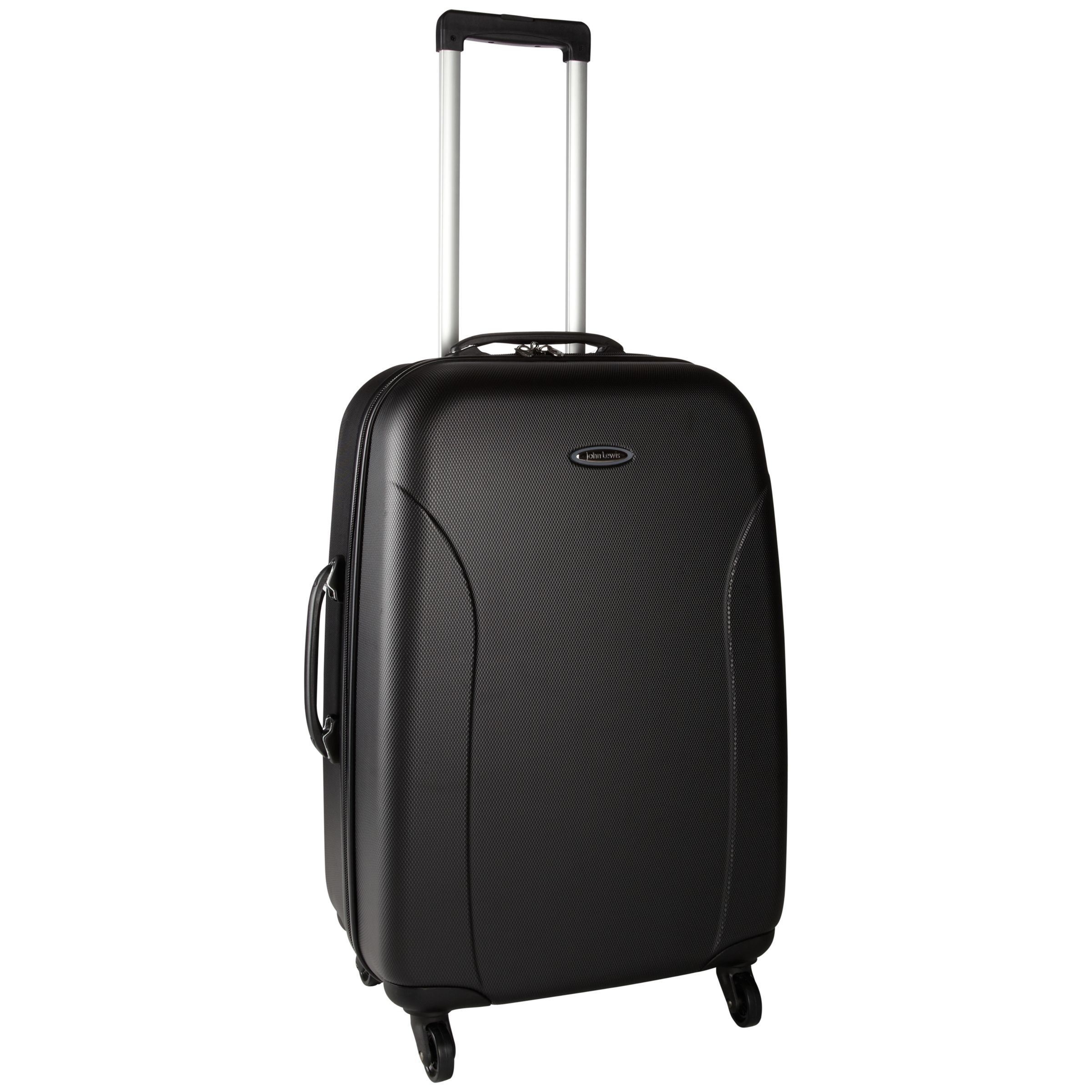 John Lewis Value II 4-Wheel Hard Suitcase, Graphite