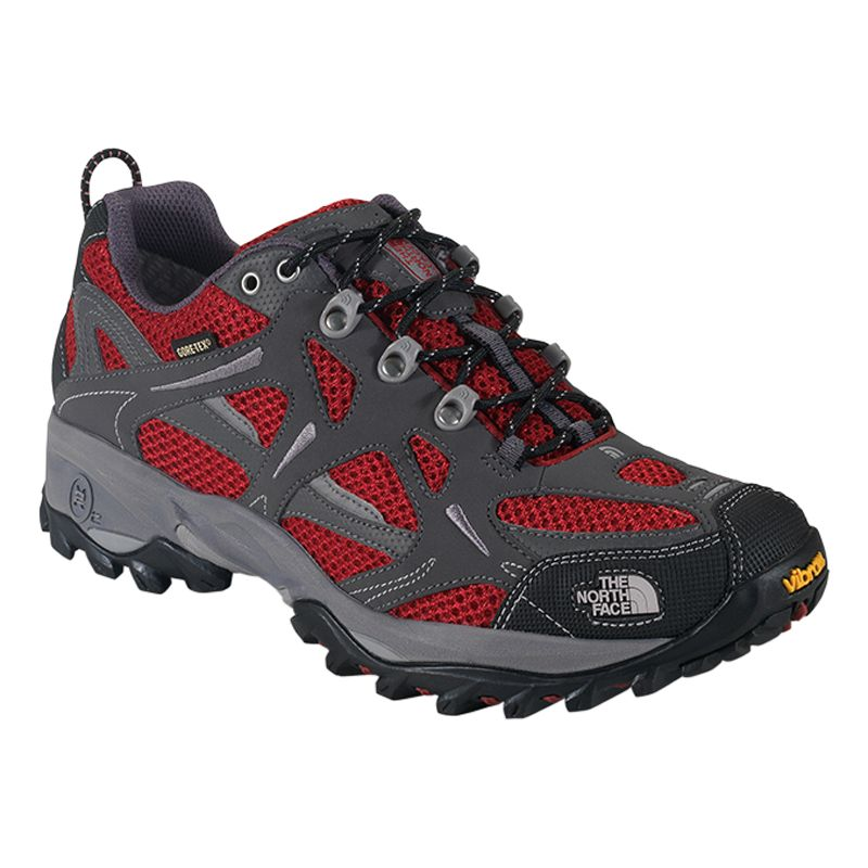 The North Face Men's Hedgehog GTX XCR III Shoes, Indian Clay Red/Dark Gull Grey