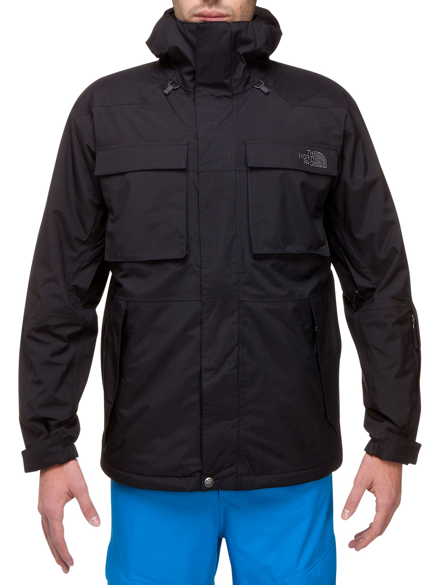 The North Face Decagon Jacket, TNF Black