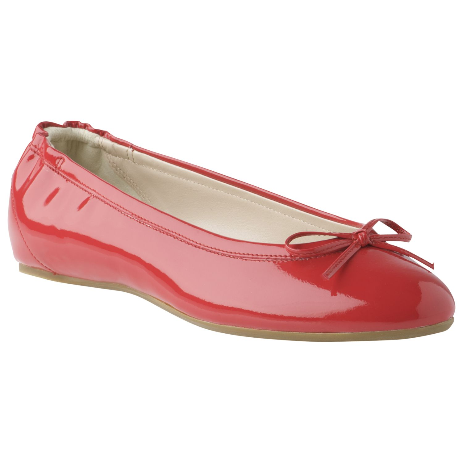 Suki Patent Leather in Hot Pink
