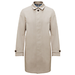 Kin by John Lewis Cotton Bonded Mac , Stone