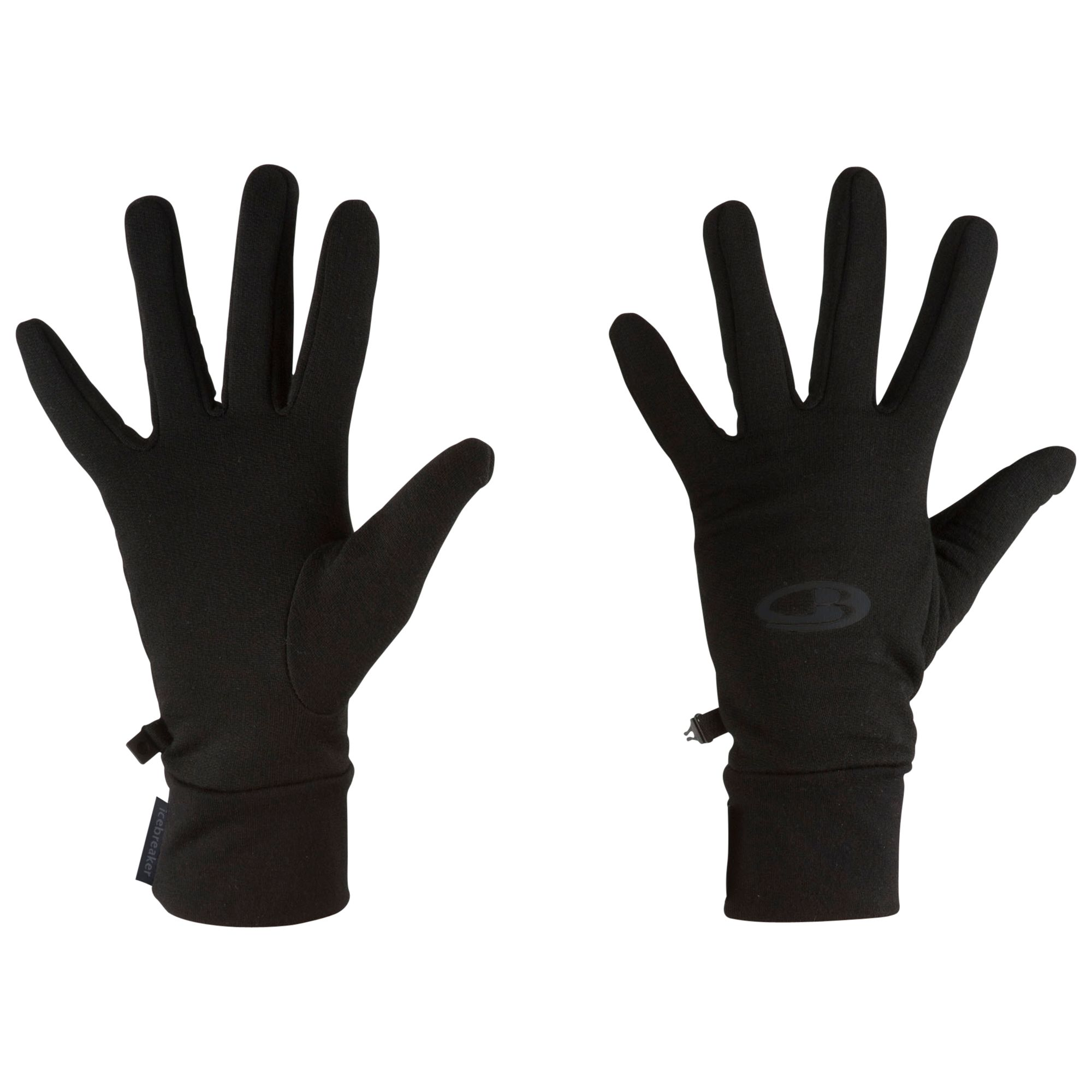 Icebreaker Realfleece Gloves, Black