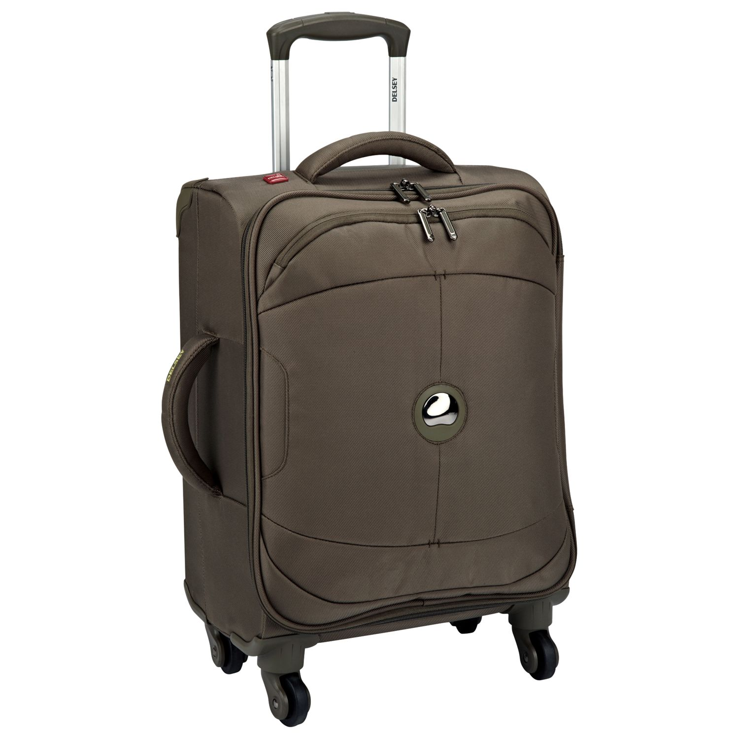 Delsey U-Lite 4-Wheel Hard Suitcase, Iguana