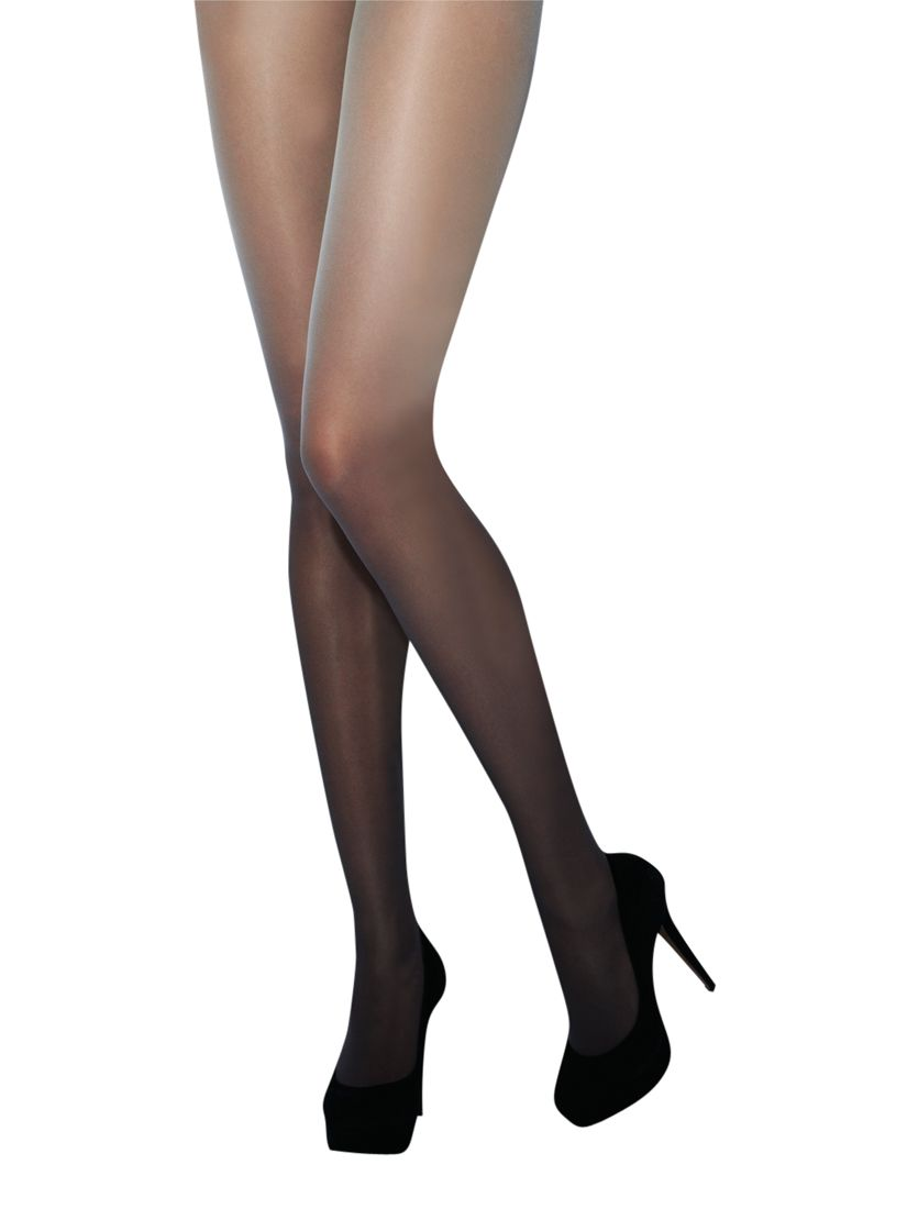 Jonathan Aston Vignette Two Tone Coloured Tights, Grey