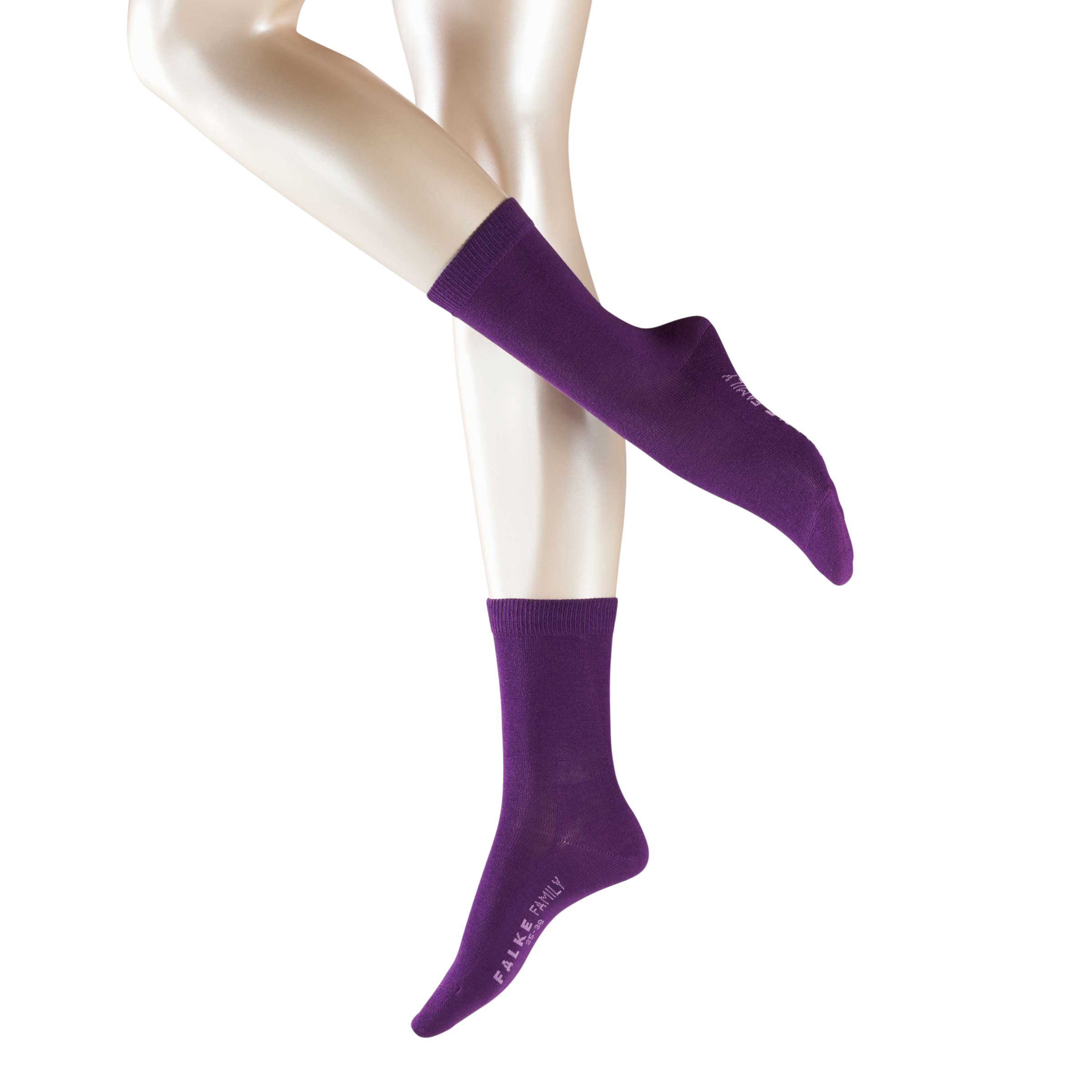 Falke Plain Ankle Socks, Wildberry