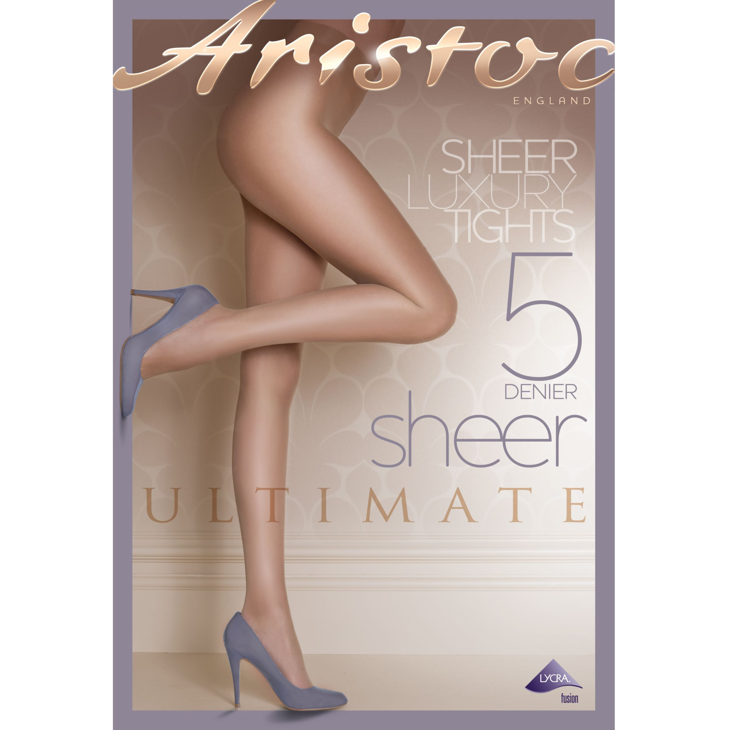 Aristoc Ultimate Sheer Tights, Black