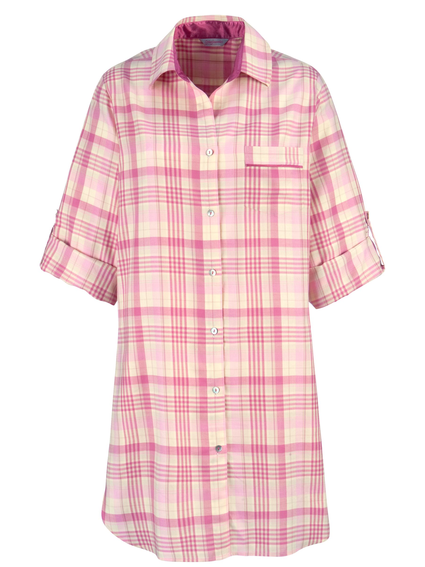 Cyberjammies Vintage Nightshirt, Orange/Pink