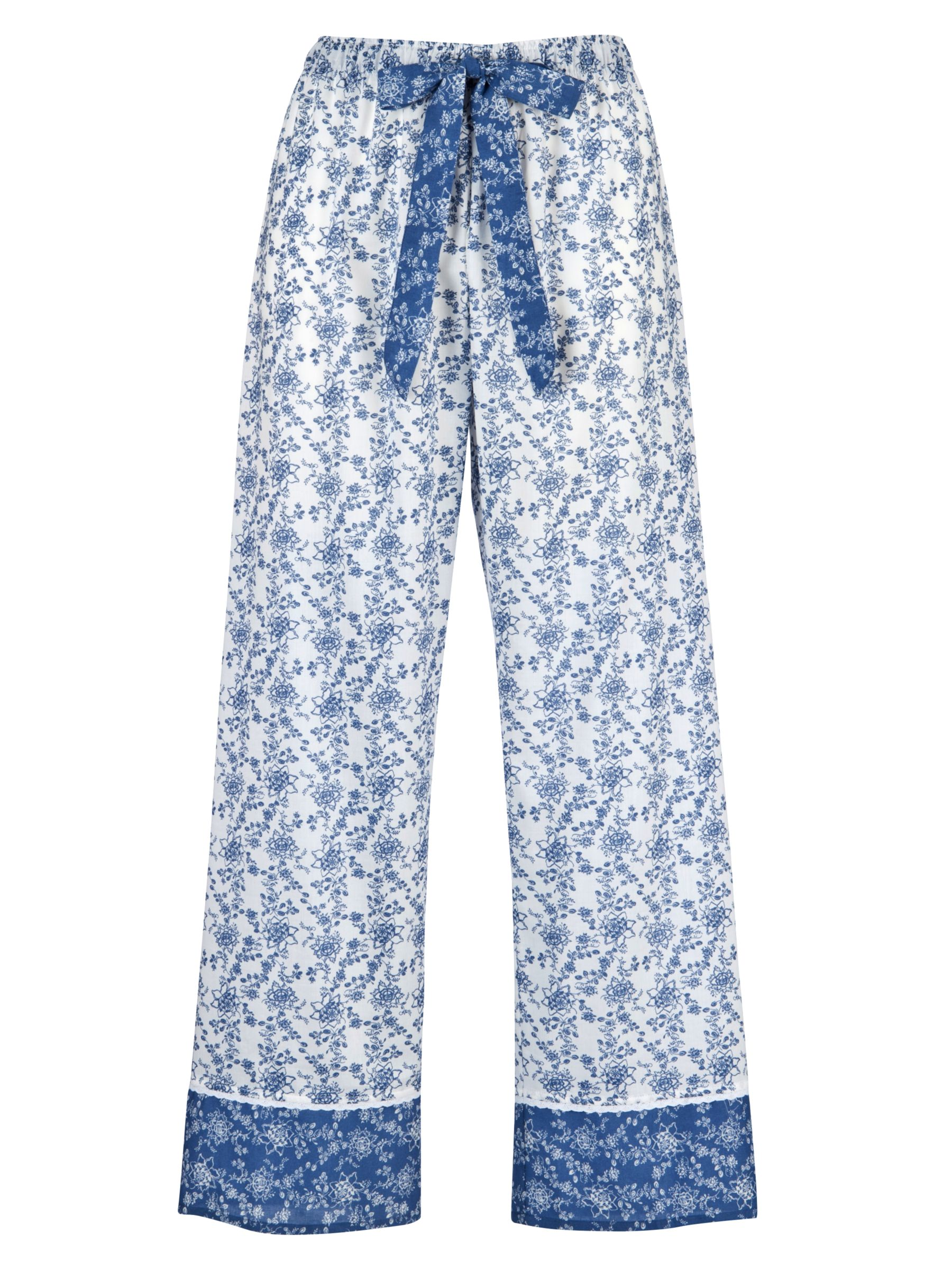 Cyberjammies China Blue Pyjama Bottoms, Blue/White