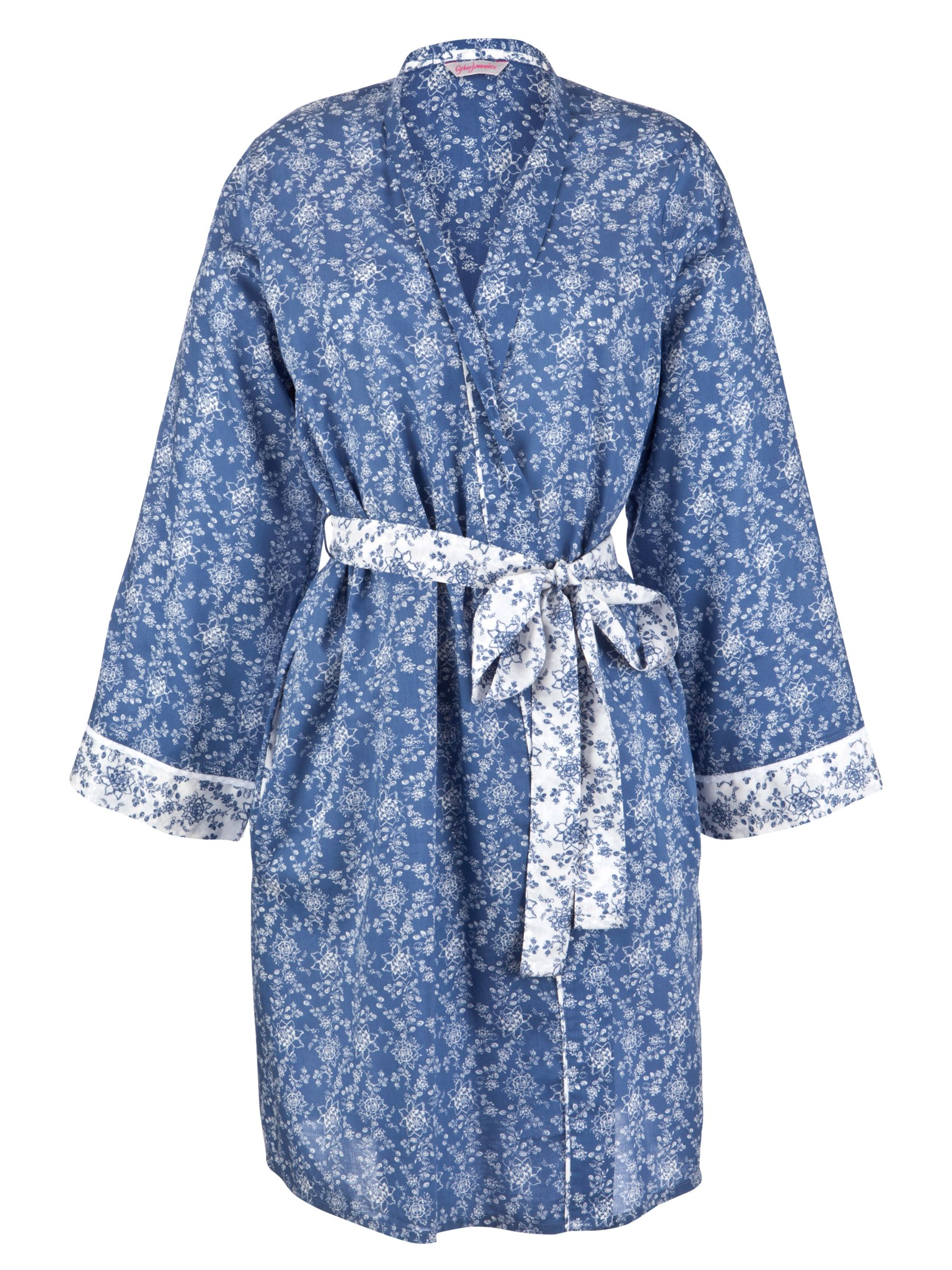 Cyberjammies China Blue Wrap, Blue/White