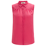 Somerset by Alice Temperley Sleeveless Collar Blouse, Pink
