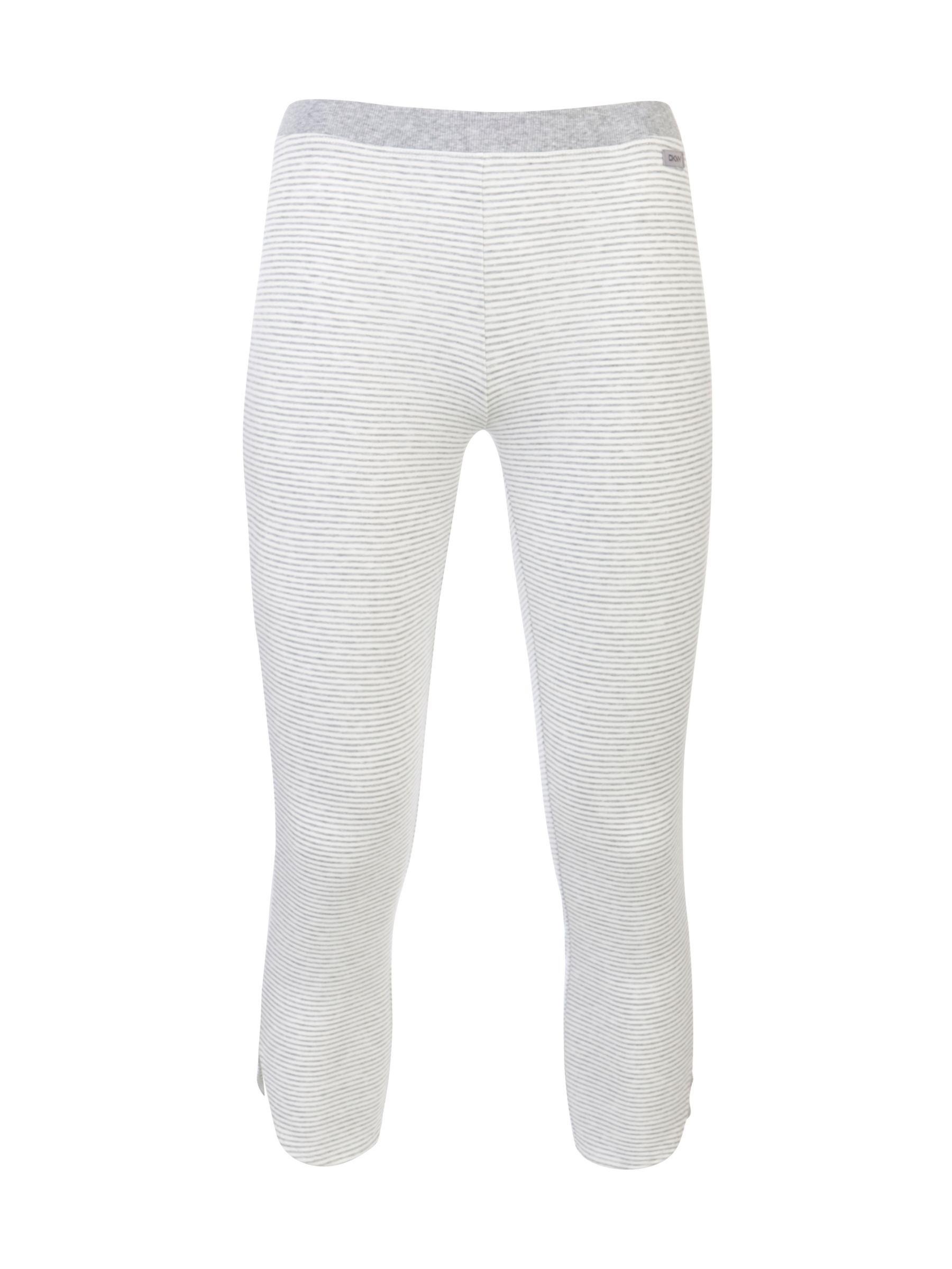 DKNY Capri Stripe Leggings, Grey