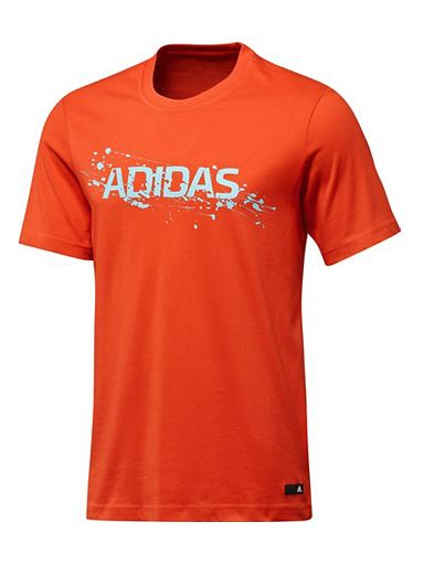 Adidas Essentials Liquid Lineage T-Shirt, Red