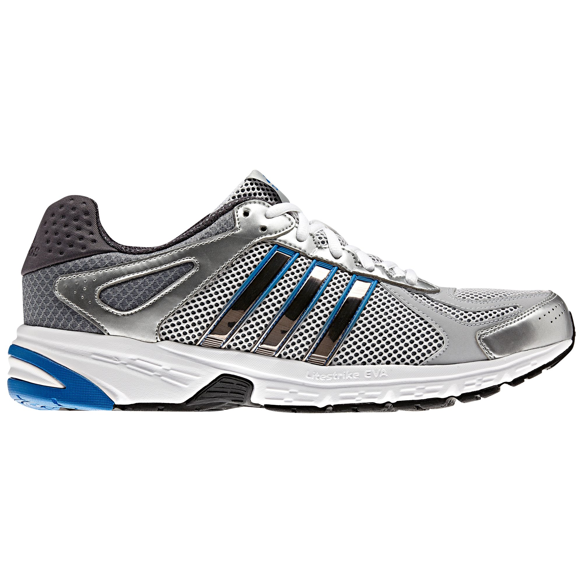 Adidas Duramo 5 Men's Running Shoes, Silver/Blue