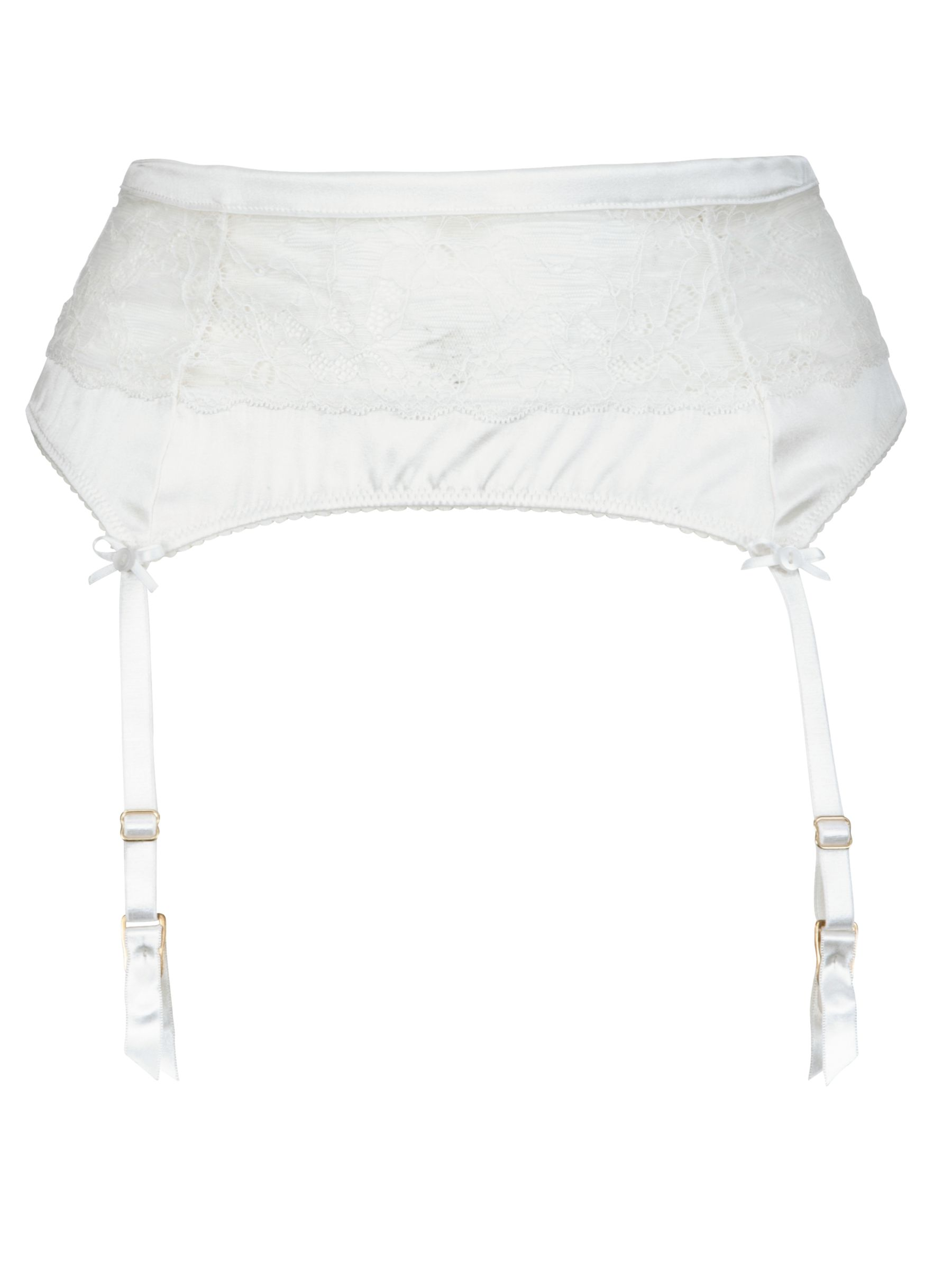 COLLECTION by John Lewis Bridal Fiona Suspender Belt, Ivory