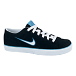 Nike Capri Canvas Trainers, Black/White/Blue £30