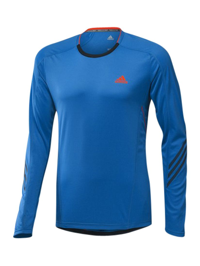 Adidas Supernova Long Sleeve T-Shirt, Blue