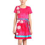 Desigual Indio Rep Dress, Pink