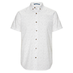Kin by John Lewis Short Sleeve Dash Print Shirt