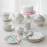 Tea Pots, Tea Cup & Saucers