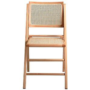 John Lewis Palio Folding Chair, Natural