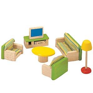 Dolls House Living Room Furniture Set