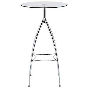 John Lewis Bistro Glass Bar Table