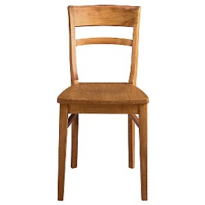 John Lewis Piran Dining Chair, Chestnut