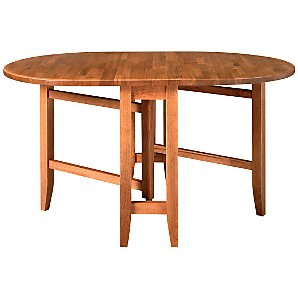 John Lewis Flynn Gate-leg Table, Chestnut