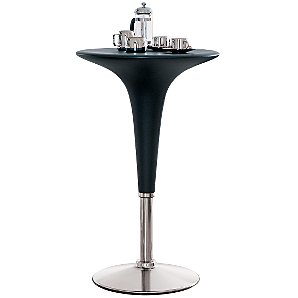 John Lewis Bombo Bar Table, Graphite