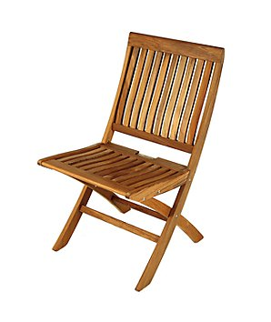 Barlow Tyrie Monaco Folding Garden Side Chair