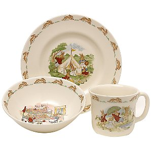 Bunnykins China Set