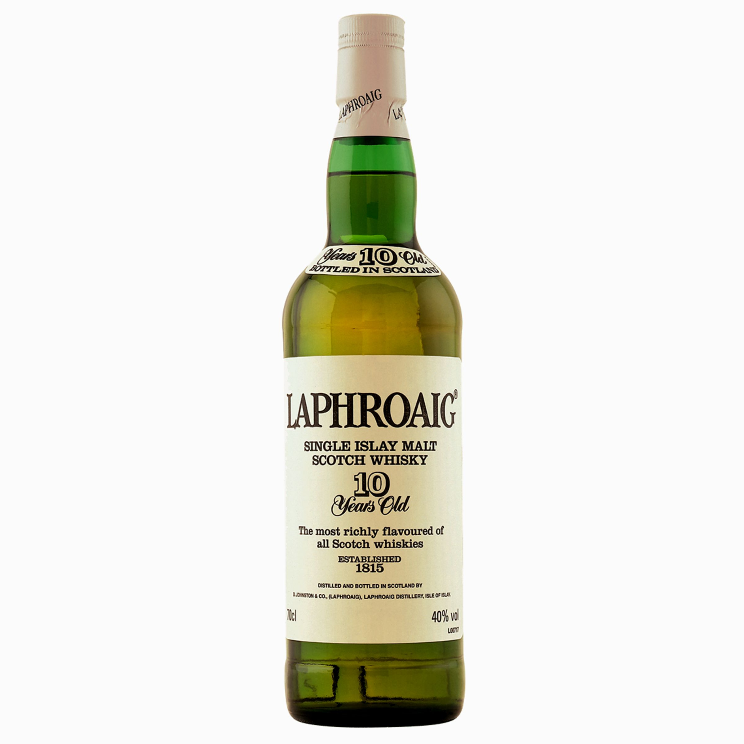 Laphroaig 10 Year Old Islay Malt Whisky