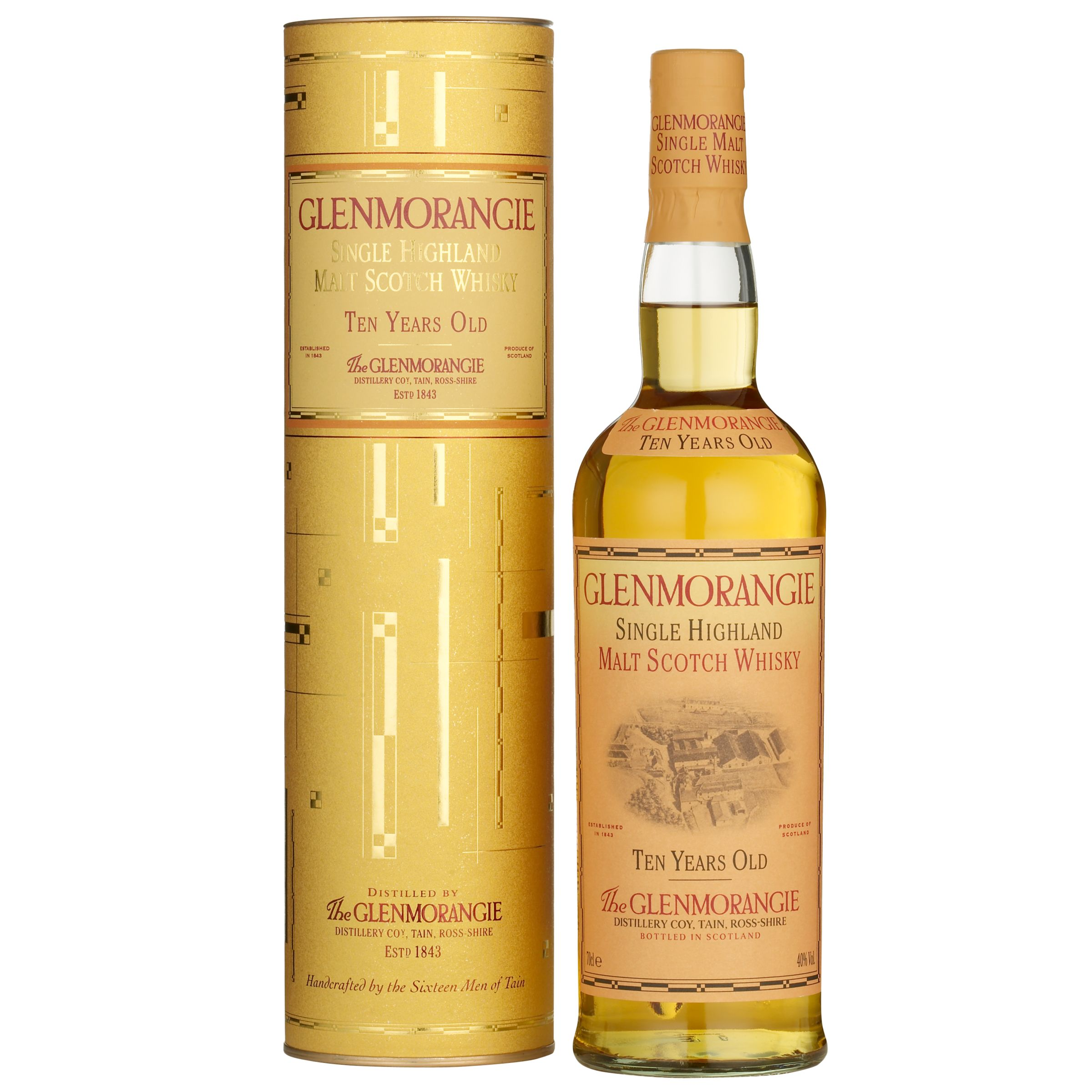 Glenmorangie 10 Year Old Highland Malt Whisky