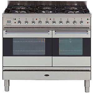 Range Cooker, Stainless Steel,