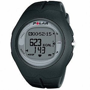 Polar F6 Mens Heart Rate Monitor/Watch, Black