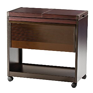 Hostess Trolley, HL6200DB, Mahogany product image