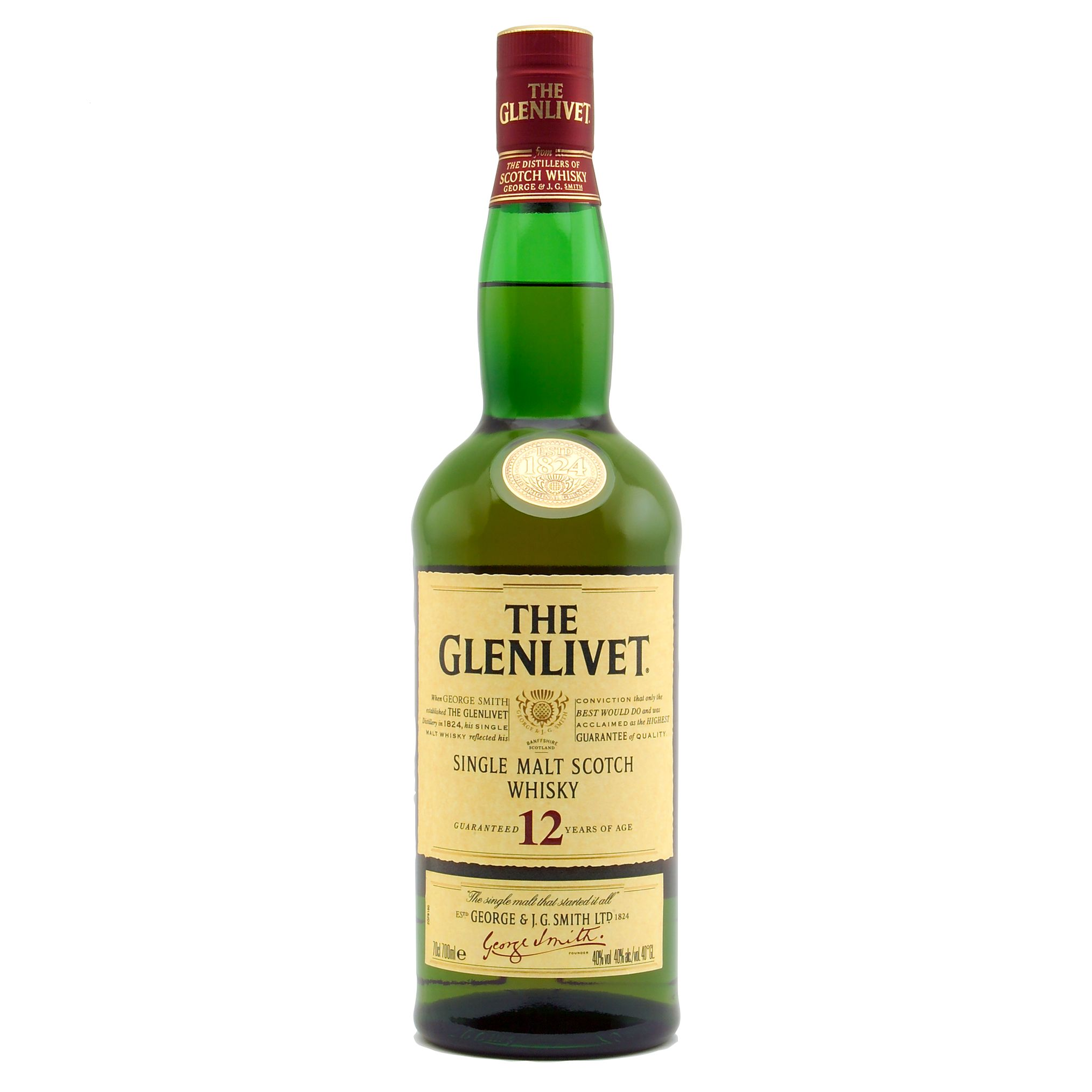Glenlivet 12 Year Old Speyside Malt Whisky