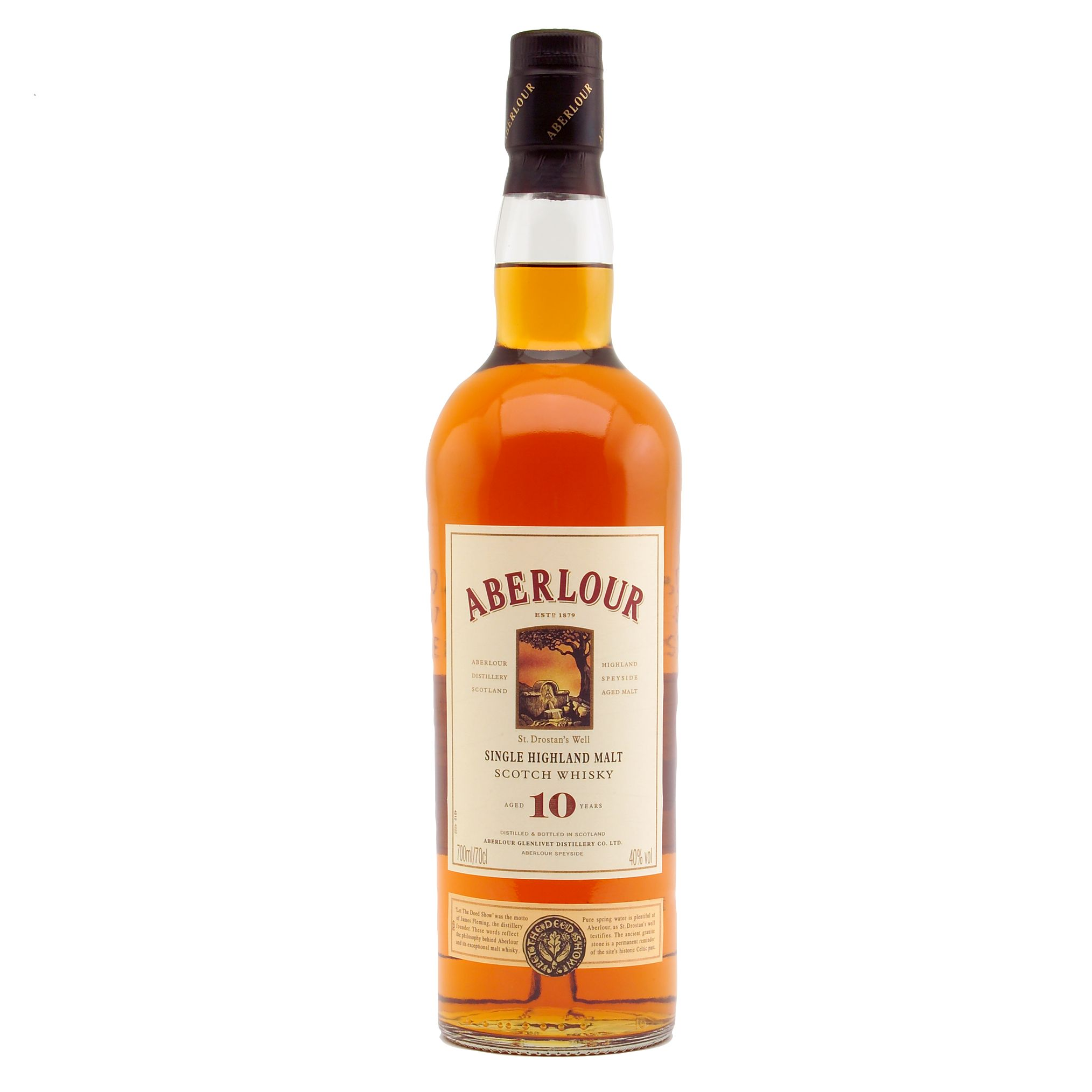 Aberlour 10 Year Old Speyside Malt Whisky