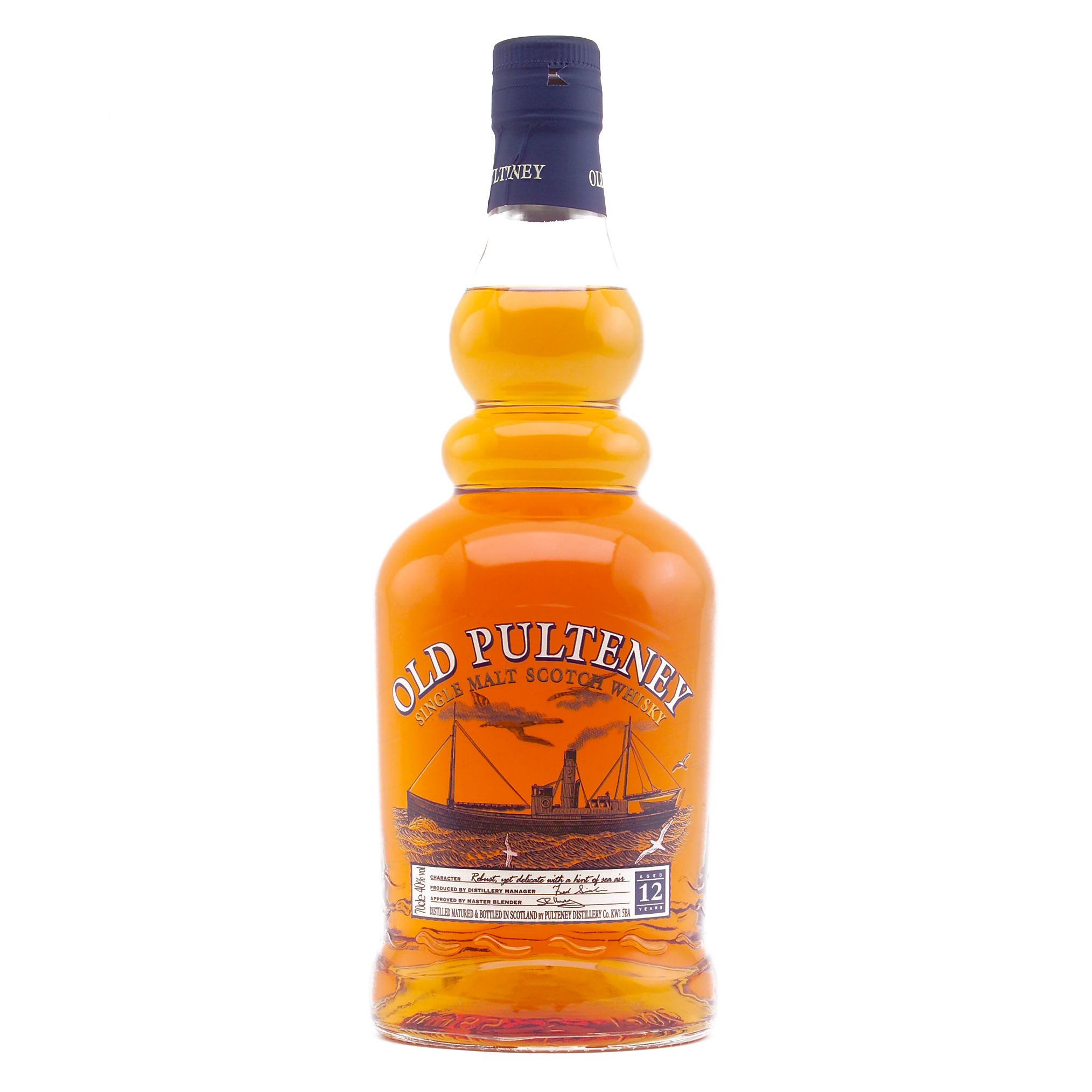 Old Pulteney 12 Year Old Highland Malt Whisky