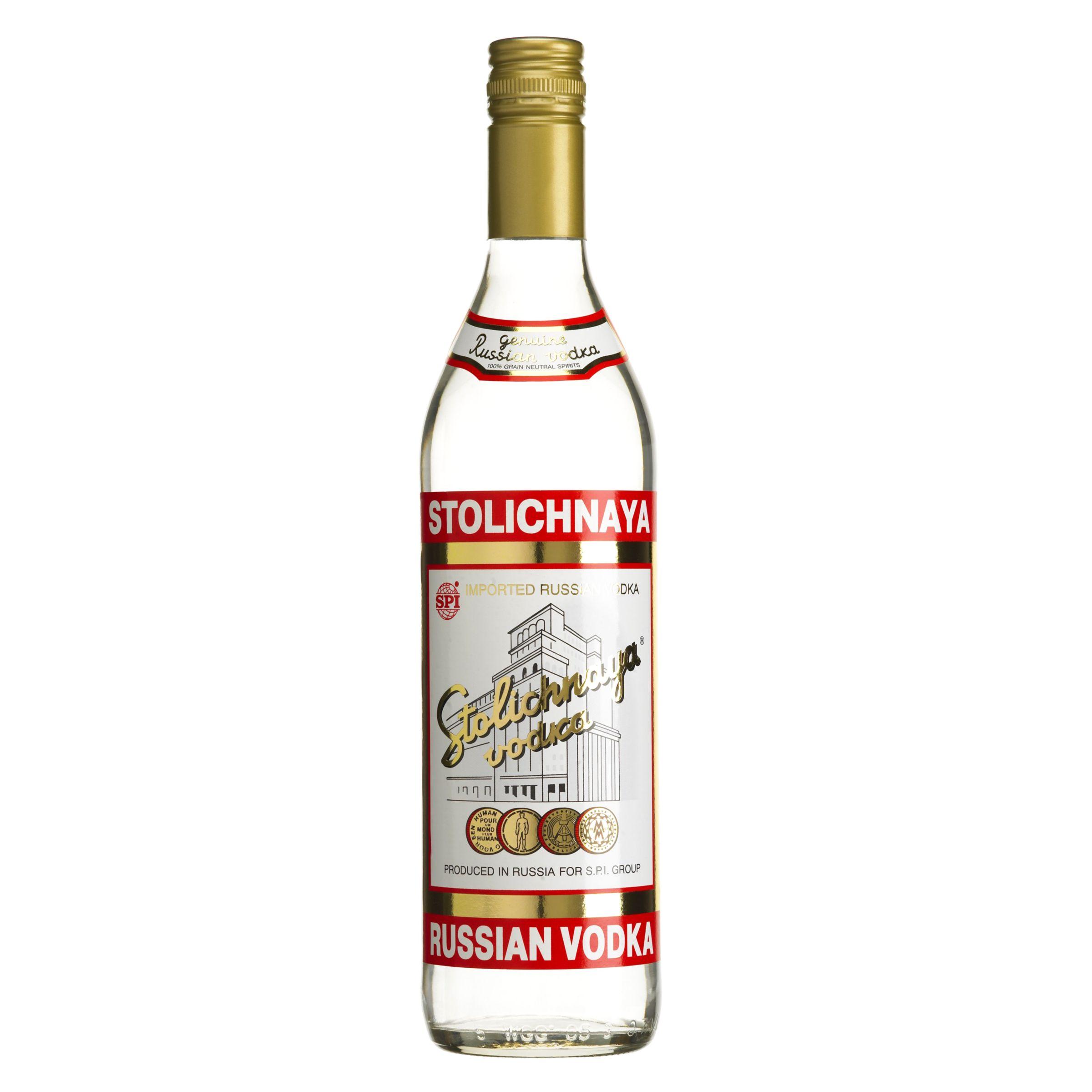 Stolichnaya Vodka at John Lewis
