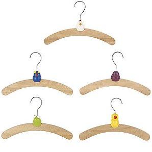 Animal Hangers, Set of 5