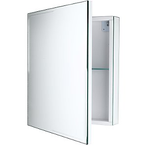 Ice Mirrored Cabinet