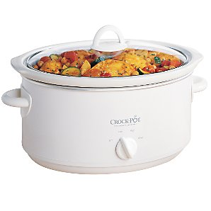 Crock Pot Slow Cooker SCV400W-IUK Slow Cooker, White
