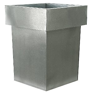 Stackable Planter, Titanium, Small