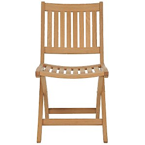 John Lewis Tahiti Folding Garden Side Chair