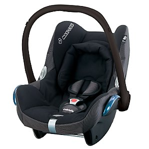 CabrioFix Infant Carrier- Black Reflection