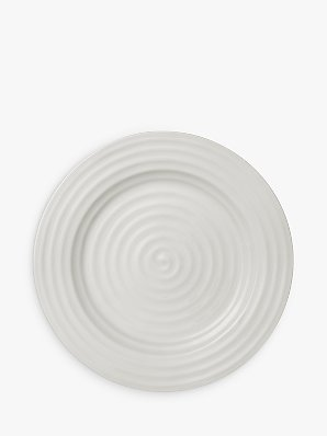 Sophie Conran for Portmeirion Dinner Plate, White, 28cm