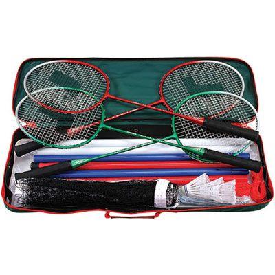 Jaques Pro Deluxe Badminton Set